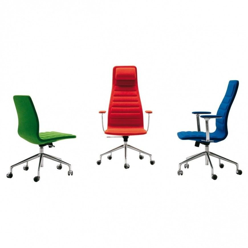 lotus high office chair with wheels cappellini. Black Bedroom Furniture Sets. Home Design Ideas