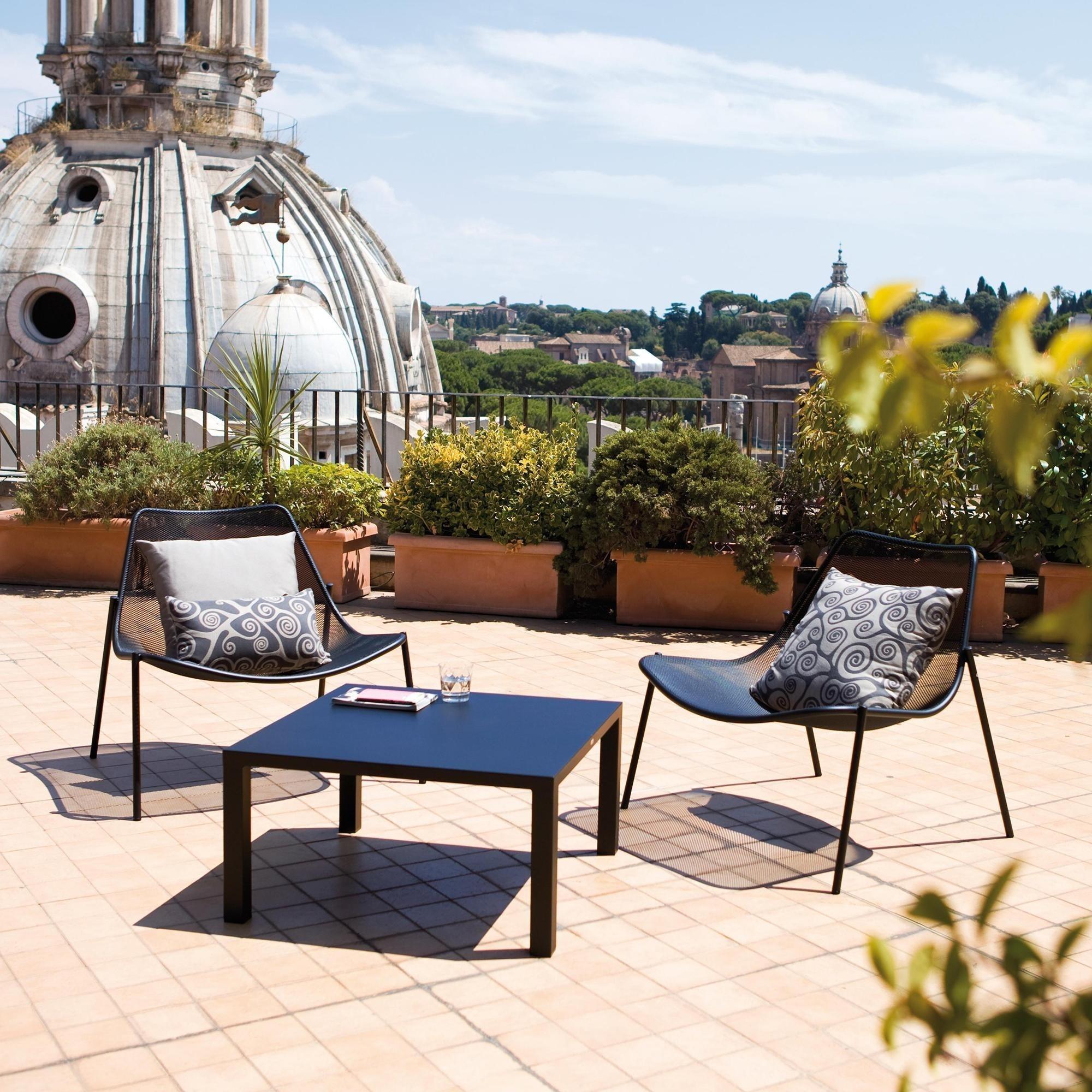Emu Round Outdoor Lounge Chair Ambientedirect