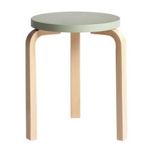 Artek - 60 Stool Clear Lacquered Base