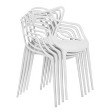 Kartell - Masters - Set de 4 sillas