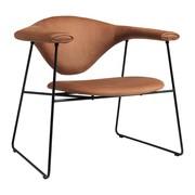 Gubi - Masculo Lounge Chair Sessel Leder