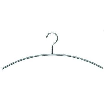 FROST - Slim Kleiderbügel Set - edelstahl/glänzend/4 Stück
