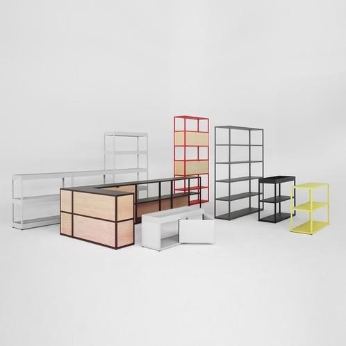 HAY - New Order Tray-Regal 200x173cm