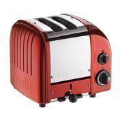 Dualit - Vario Toaster 2 Scheiben New Generation - apple candy rot/matt/mit Drehknopf
