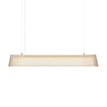 Secto Design - Owalo 7000 LED Pendelleuchte - birke natur/Birkenholz/2800K/1000lm/Kabel transparent