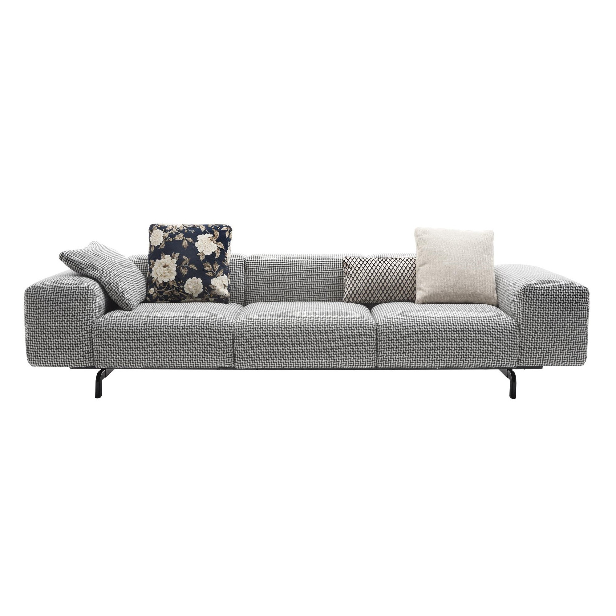 Kartell Largo 3 Sitzer Sofa 301x96x69cm Ambientedirect
