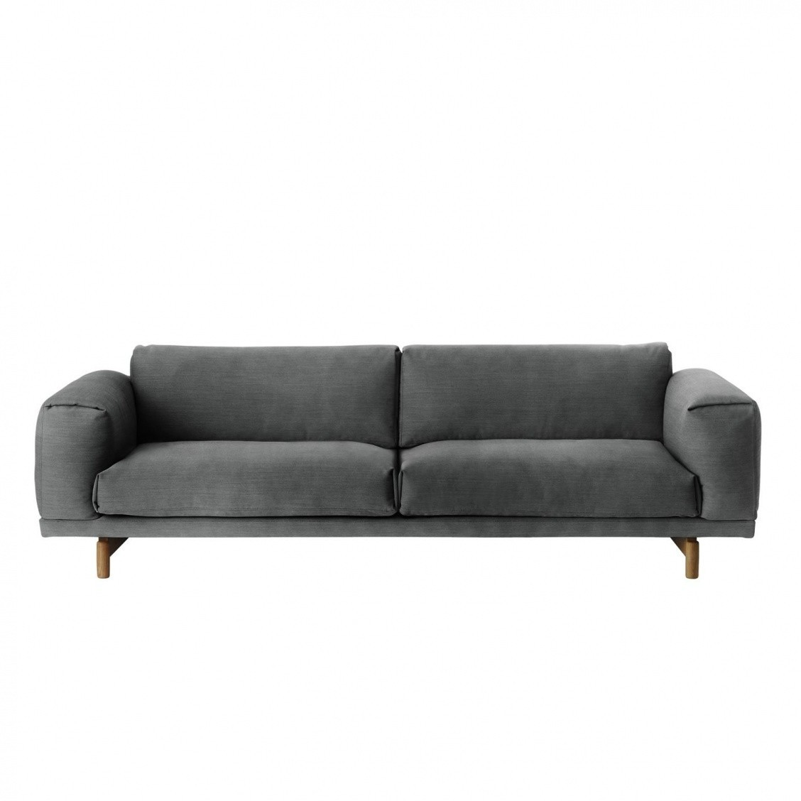 Muuto Rest Sofa 3 Seater Dark