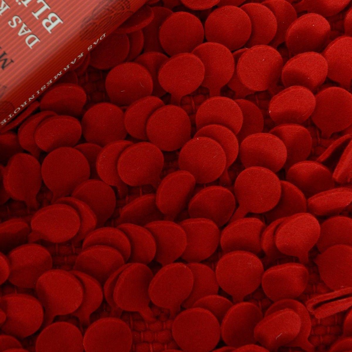 Nanimarquina Roses Design WollFilz Teppich  Nanimarquina