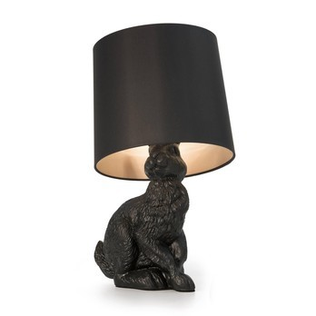 Moooi - Rabbit Lamp Tischleuchte - schwarz/Polyester