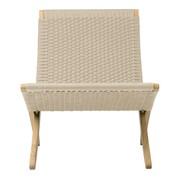 Carl Hansen - MG501 Cuba Chair klappbar mit Geflecht Papiergarn