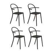 Kartell - Generic C Garden Armchair Set of 4