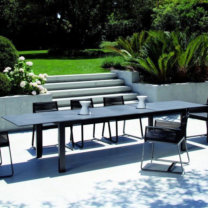 Landscape mesa mesa de jard n extensible kettal for Mesa jardin extensible