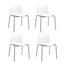Arper - Catifa 46 0251 Chair bicoloured Set Of 4