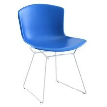 Knoll International - Bertoia Plastic Side Chair Stuhl Gestell weiß