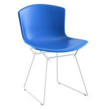 Knoll International - Bertoia Plastic Side Chair Stuhl weiß