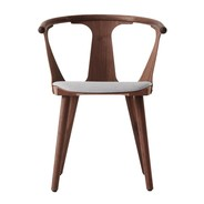 &tradition - In Between SK2 Chair Upholstered Frame Walnut