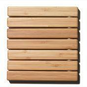 DesignHouseStockholm - Untersetzer Hot Pot Stand - braun/Bambus/17x18cm