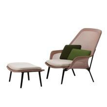 Vitra - Slow Chair Lounge Chair & Ottoman