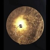 Catellani & Smith - Telchisugio Wandleuchte - gold/Aluminium/Messing-Flexarm/Ø50cm