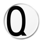 Design Letters - Design Letters Porzellan Teller Q