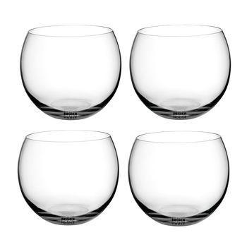 DesignHouseStockholm - Globe Trinkglas 4er-Set 33cl - transparent