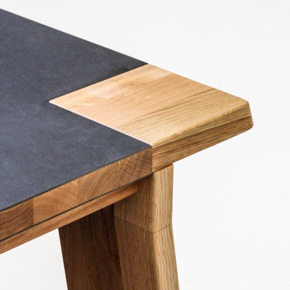 lino table de salle manger en bois adwood. Black Bedroom Furniture Sets. Home Design Ideas