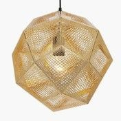 Tom Dixon - Etch Shade Pendelleuchte Ø32cm  - messing
