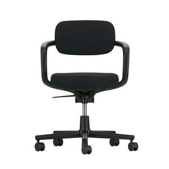 - Allstar Bürostuhl - schwarz/Sitzpolster Hopsak 66 schwarz/BxHxT 61x78,5x49,5cm/SH: 42-53cm