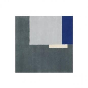 ClassiCon - Roquebrune Teppich - grau/blau / 200x200cm