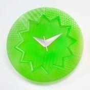 Kartell - Crystal Palace Wanduhr Ø19cm - grün