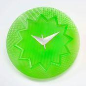 - Crystal Palace Wanduhr Ø19cm - grün