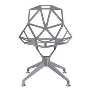 Magis - Chair One 4Star Swivel Chair Four-Legged Frame