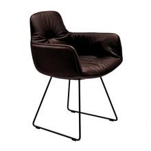Freifrau - Chaise à accoudoirs haute Leya structure luge