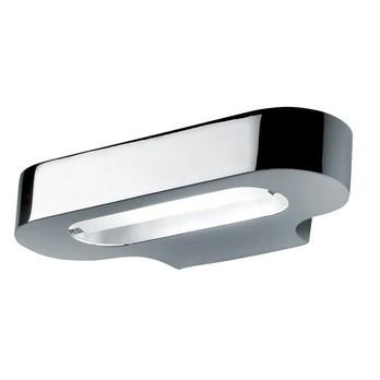 Artemide - Talo Parete LED Wandleuchte - chrom/poliert/3000K/1343lm/LxBxH 21x10x4.3cm