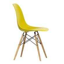 Vitra - Eames Plastic Side Chair DSW Gestell Esche