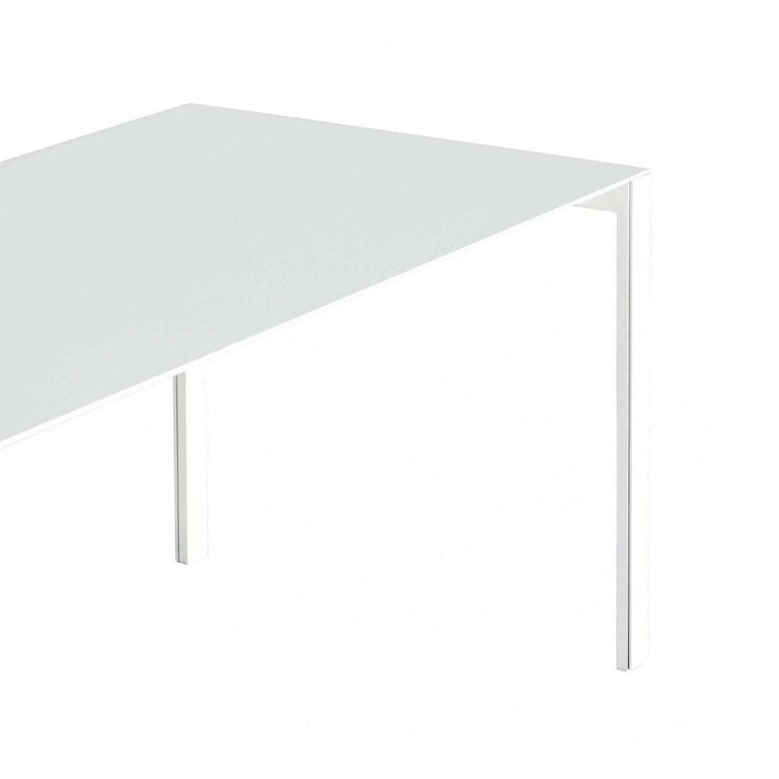 Kristalia Thin K Aluminium Tisch Ausziehbar Ambientedirect