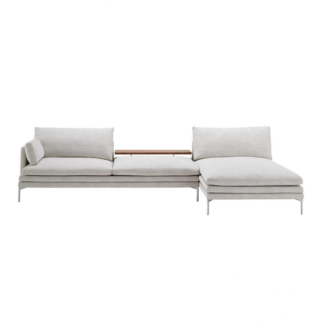 william sofa with chaise longue zanotta. Black Bedroom Furniture Sets. Home Design Ideas