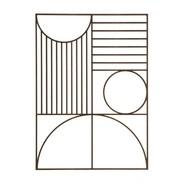 ferm LIVING - Outline Rectangle Wanddekoration