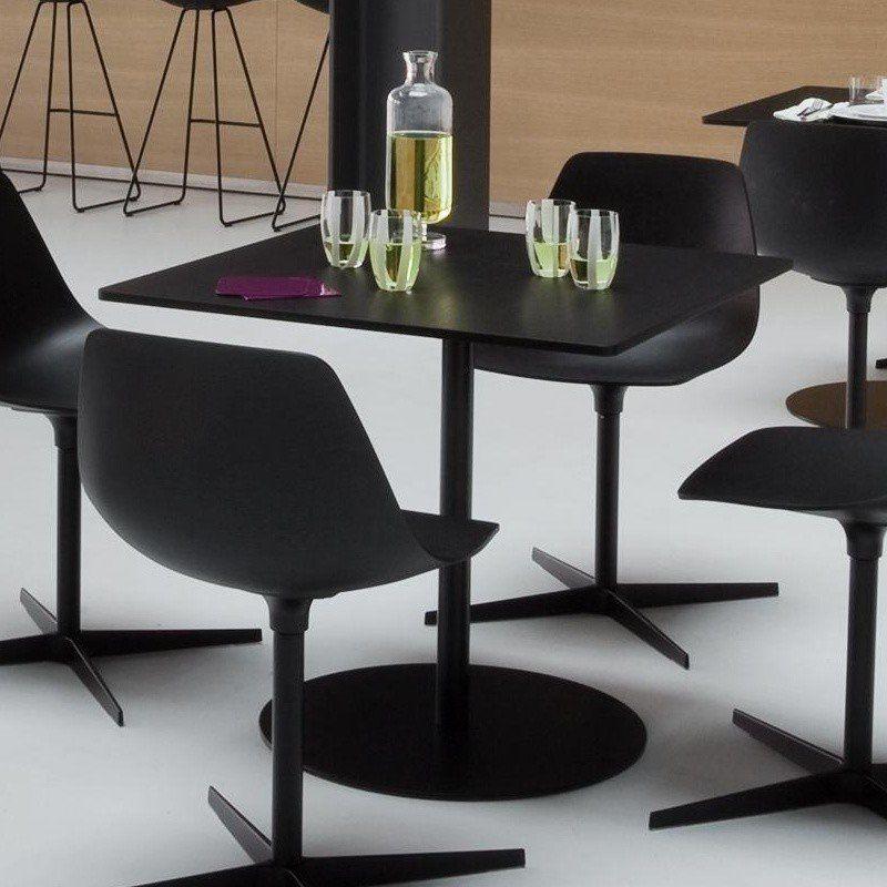 la palma Brio Fix 72 Bistro/Coffee Table Frame Black | AmbienteDirect