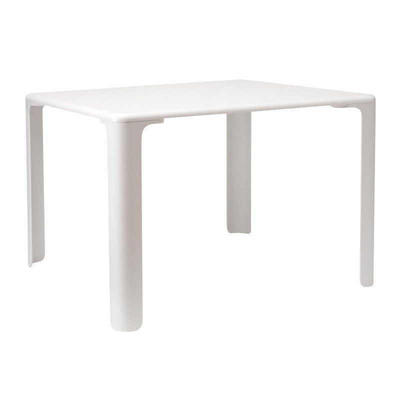 Magis   Linus Childrenu0027s Table   White/MDF ...