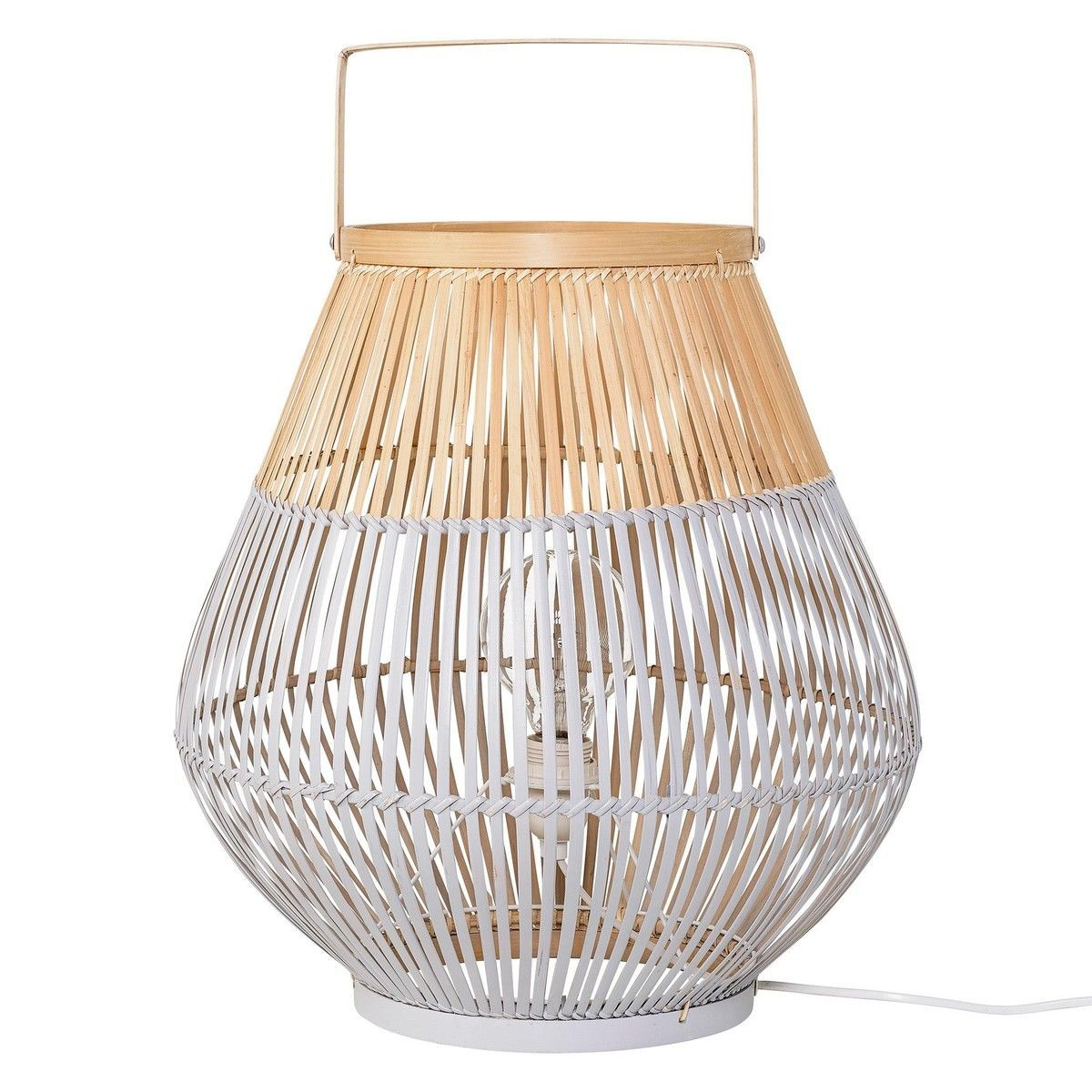Bamboo Floor Lamp   Bloomingville   AmbienteDirect.com