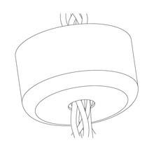Muuto - E27 Pendant Lamp multi canopy