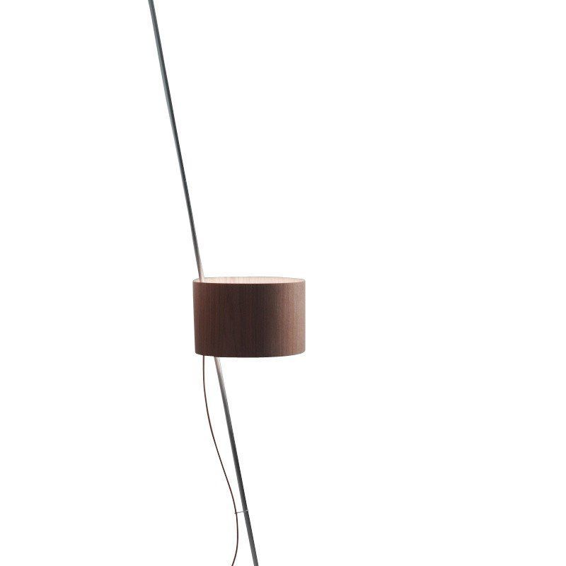 Lumini lift floor lamp ambientedirect lumini lift floor lamp lamp shade woodcable brown greentooth Image collections
