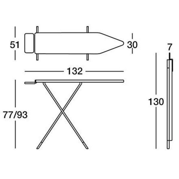 amleto table repasser magis. Black Bedroom Furniture Sets. Home Design Ideas