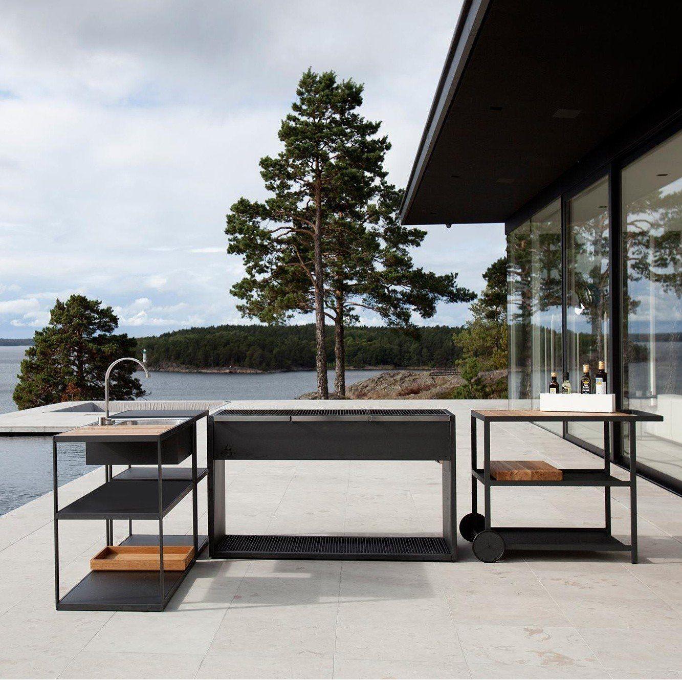 Röshults - Mueble de jardín con fregadero | AmbienteDirect