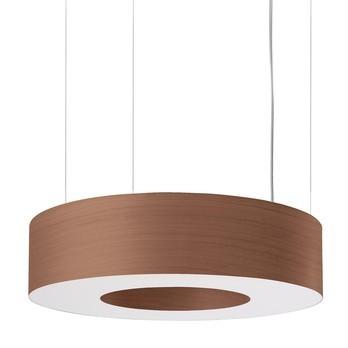 LZF Lamps - Saturnia SP LED Pendelleuchte - schokolade/matt/3000K/1866lm/CRI90/Dimmung über DIM 0-10V
