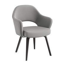 Knoll International - Saarinen Conference Armchair Frame Ebony