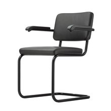 Thonet - S 64 Cantilever Armchair Black&White