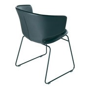 Alias - 504 Taormina Armchair with Skids