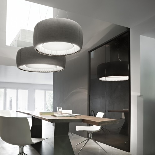 Luceplan - Silenzio LED 90 Pendelleuchte